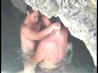 Young Couple Sex on the Beach,