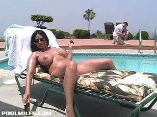 Pool Milf Ava Lauren Fucked Hard