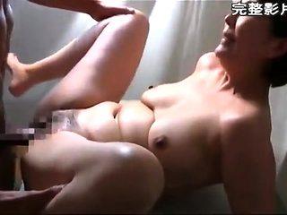 Horny hot sexy Asian MILF fucked on webcam