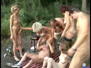 SEX PARTY AT THE LAKESIDE 03