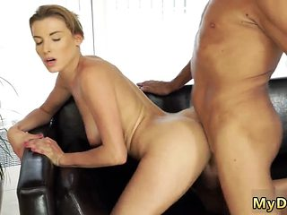 Sloppy Blowjob Sex With Her Boycronys Father After Swimming Pool