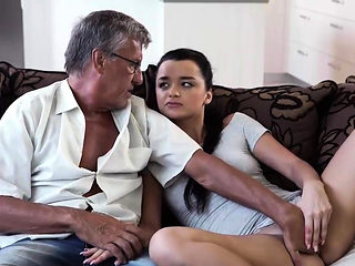 DADDY4K. Erica will never forget hot sex with dad of her