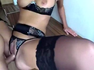 Amazing homemade Anal, Stockings xxx movie