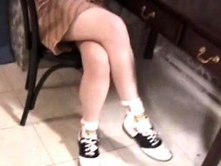 Adorable teenager gets spanked hard and fastened to a chair