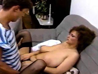 Classic step mom big tits squirt