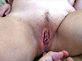Lover's cum in my pregnant wife pussy