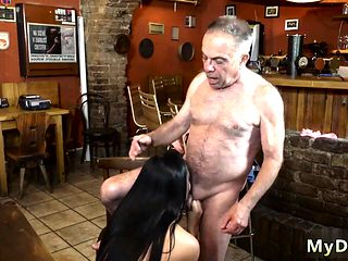 Old lady sucking cock first time Can you trust your gf