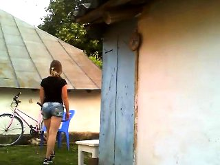 Outdoor Masturbation 18 years Blonde ulyana
