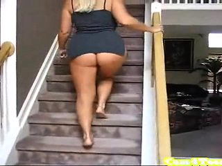 BBW Huge Ass Webcam Tease