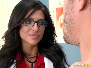 sexy doctor in glasses wants her ass whipped