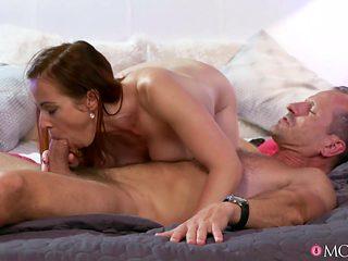 Incredible pornstars Melanie Crush, Bibi Fox, George in Crazy Small Tits, Romantic adult movie