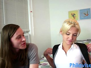 PHILAVISE-Stepsis plays with her two new bros