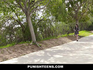 PunishTeens - Schoolgirl ###napped & Ass Fucked