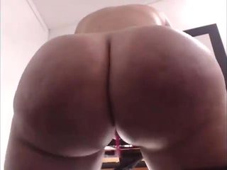 Big ass booty dildo anal