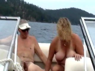Sharing wife on the boat